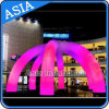 Big Inflatable LED Arch for Party/Colorful Inflatable Lighting Arch