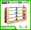 Modern Wooden Double Sided Bookcase for Wholesale (ST-30)