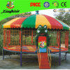 Colorful Large Gymnastics Trampoline with Tent