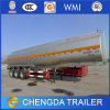 Tri Axle 45000 Liters Aluminum Tank Trailer with Air Bag Suspension