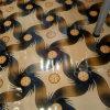 PVC Vinyl Roll Flooring of Red Felt Backing