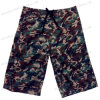 Miss Adola Colorful Camo Print Superman Logo Beach Short for Young Boys (4139)