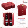 PU Leather Wine Box for 2 Bottles