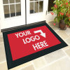 Custom Personalized Dye Sublimation Printed/Printing/Print Welcome Entrance Promotional Logo Rubber ...