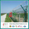 PVC Coated Airport Fence /Welded Wire Mesh Metal Fence panel