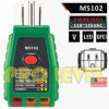 Professional 3 Wire GFCI Outlet Tester (MS102)