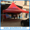 Outdoor Steel Frame Red PVC High Peak Marquee Tent