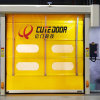 High Speed PVC Stacking Door for Industrial Workshop