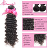 Quercy Hair Hot Selling Unprocessed Wholesale 100 Percent Raw Virgin Peruvian Deep Wave Hair Chemical Free