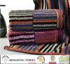 Hot Sell Dyed Yarn Jacquard Towel Set Df-5819