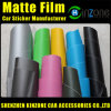 PVC Car Matte Vinyl Film/Car Matte Color Sticker/Matte Car Vinyl Wrap