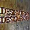 Halo Illuminated Mirror Finish Copper Channel Letter