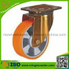 Industrial Swivel Caster with Polyurethane Mold on Aluminium Core Wheel