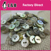 2/4 Holes Nature Japanese Agoya Shell Button