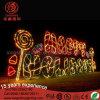 Outdoor 3m LED Lollipop Christmas Street Motif Light for Decorating