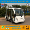 Chinese Made 8 Seater Battery off Road Enclosed Sightseeing Bus for Tourist