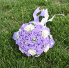 2016 Colorful Foam Rose Wedding Flowers Wedding Bouquet