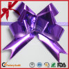 Wholesale Festival Gift Packaging Purple Metallic Pull Bows