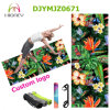 Floral Print Yoga Mat Non Slip Toxic Free Yoga Pilate Mat