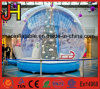 Human Size Inflatable Snow Globe Show Ball for Promotion