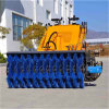 Earthmoving Machinery Mini Skid Steer Loader with Road Sweeper