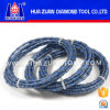 Sharpness 10.5mm Granite Marble Sandstone Quarry Diamond Wire Saw