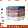 100% Cotton Terry Cloth Plain White Bath Towel with Logo