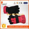 Black Cow Split Leather Glove Safety Gloves Dlc228