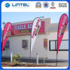 Outdoor Steel Ground Spike Polyester Flying Flag Banner (LT-17C)