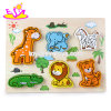 New Hottest Children Wooden Animal Puzzle Games for Education W14D032