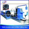 Economical Steel Square and Round Pipe/Tube CNC Plasma Cutting Machine for Marine Equipment