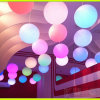 Colorful LED Lifting Ball Hanging Globe with Remote Control