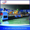 3 Axis Steel Pipe Plasma Cutting Machine Cut Hole and Shape Kr-Xy3