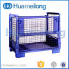 Folding Metal Wire Mesh Pallet Stillage Cage