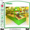 Fruit Vegetable Metal Display Rack with Mirror