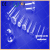High Temperature Clear Quartz Galss Tube with Sperical Ground Joint Ball &Cup