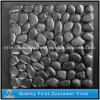 Natural Black Pebble on Mesh for Paving