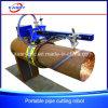 Portable Round Tube Pipe CNC Plasma/Flame Groove/Bevel Cutting Machine