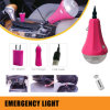 Solar Camping Lamp, Solar Emergency Light, Rechargeable Light, LED Flashlight