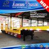 4 Axles Low Boy Truck Trailer with Jost Landing Gear