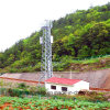 Telecommunication Galvanized Four Legged Angle Steel Tower