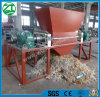 Double Shaft Shredder for Plastic/Tire/Foam/Kitchen Waste/Municipal Waste/Animal Bone/Scrap Metal