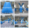 Inflatable Giant X Paintball Field for Play