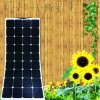 18V80W ETFE Soft Flexible Elastic Foldable Bendable Sunpower Solar Panel PV Module