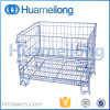 Collapsible Warehouse Foldable Steel Storage Cage