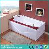 2015 New Design Wooden Corner Massage Bathtub (TLP-679-WOOD)