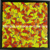 Gravel Crystal Mosaic Border / Rubble Crystal Mosaic Decorated / Gravel Glass Mosaic Art (10FB08)