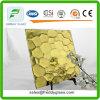 6mm Yellow Oceanic Patterned Mirror /Aluminium/Patterned Aluminium