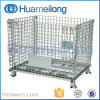 Collapsible Fabricated Wire Mesh Containerr Used for Storage