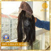 with 100% Virgin Human Hair Lace Frontal Wig (W-007)